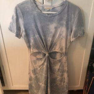 LA Hearts tie-dye tshirt dress